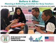 TALLER: Planning and Reflecting Essentials for Busy Teachers 03 MARZO