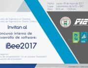 CONCURSO INTERNO DE DESARROLLO DE SOFTWARE iBee 2017