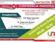 INVITACIÓN CONFERENCIA MAGISTRAL